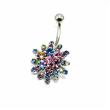 Pentru femei Bijuterii de corp Inel inelar / Piercing pe burta Cristal Diamante Artificiale Lux Costum de bijuterii Pentru Zilnic Casual