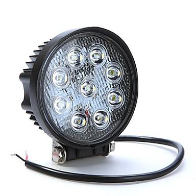 LORCOO Mașină Becuri 27W LED Performanță Mare 430lm 9 LED Bec Muncă