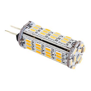 YWXLIGHT® 339 lm G4 LED Mısır Işıklar T 57 led SMD 3014 Sıcak Beyaz AC 12V DC 12V