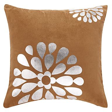 Casual Çiçekler Polyester Dekoratif Yastık Kılıfı