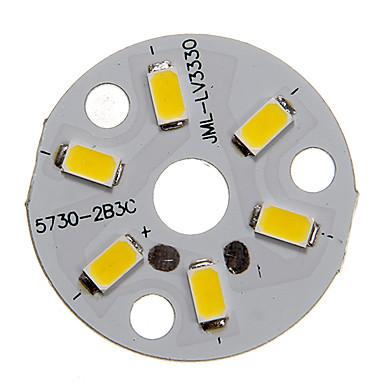 SMD 5730 250-300 lm 12 V LED Çip Aluminyum 3 W