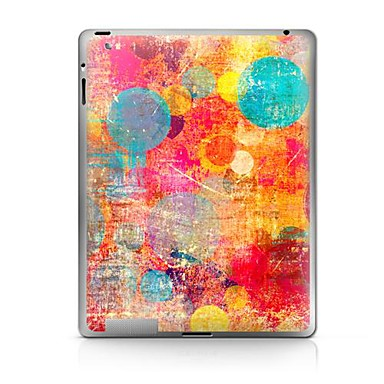1 parça Arka Koruyucu için Renkli Gradyan iPad 2 iPad 3 iPad 4