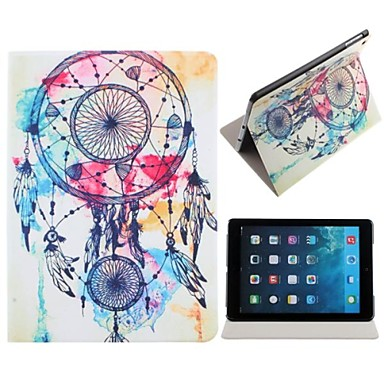 Windbell Pattern Polyurethane Leather Full Body Case with Stand for iPad Air