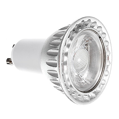 760 lm GU10 LED Spot Işıkları 1 led COB Kısılabilir Serin Beyaz AC 220-240V