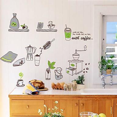 Natürmort Duvar Etiketler Uçak Duvar Çıkartmaları Dekoratif Duvar Çıkartmaları Malzeme Yıkanabilir Çıkarılabilir Ev dekorasyonuDuvar