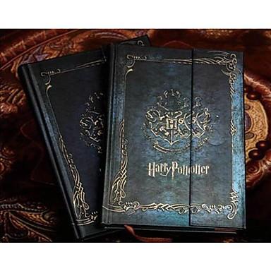 Caderno de mágica vintage livro de diário harry potter livro de notas rígido livro de notas agenda planejador