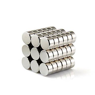Mıknatıslı Oyuncaklar Legolar Süper Güçlü Nadir Mıknatıslar 10 Parçalar 10*10*5mm Oyuncaklar Mıknatıs Manyetik Silindirik Hediye