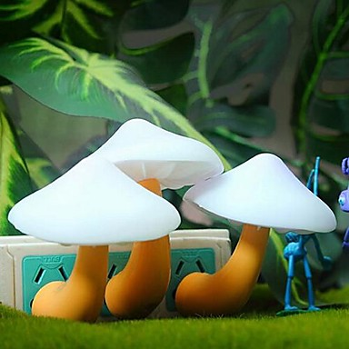 coway paddestoel inductie lamp licht led nachtlampje droom (willekeurige kleur)