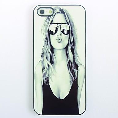 Uyumluluk iPhone 5 Kılıf Kılıflar Kapaklar Temalı Arka Kılıf Pouzdro Seksi Kadın Sert PC için iPhone SE/5s iPhone 5