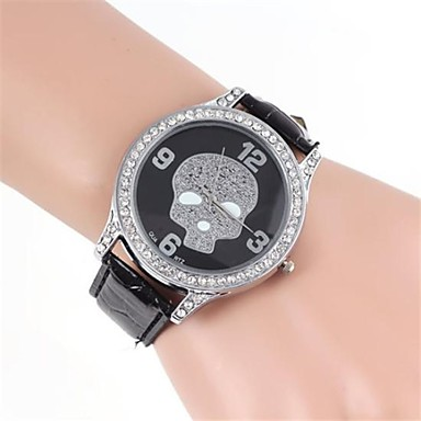 pentru Doamne Ceas Casual Simulat Diamant Ceas Quartz imitație de diamant Bandă Negru Alb Maro Alb Negru Bronz