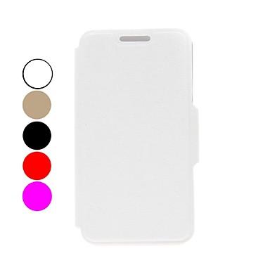 Maska Pentru LG Nexus 5 LG G2 LG Carcasă LG Titluar Card Portofel Cu Stand Întoarce Carcasă Telefon Culoare solidă Greu PU piele pentru