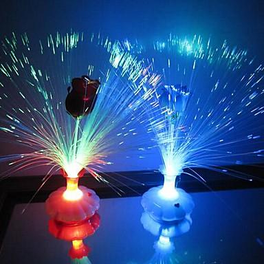 LED-uri de lumină de noapte Rezistent la apă Baterie Teracotă 1 Lumină Bateriile Nu Sunt Incluse 11.0*11.0*34.0cm