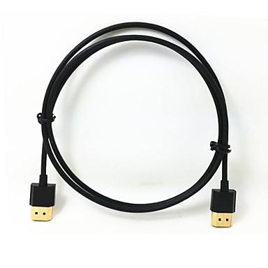 1m 3.2ft od 3mm super-moi vers subțiri HDMI Cablu HDMI pentru ethernet casa si masina a / v