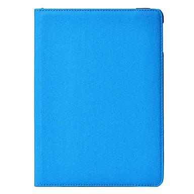 Pouzdro Uyumluluk iPad Air Satandlı 360° Dönüş Tam Kaplama Kılıf Tek Renk PU Deri için iPad Air