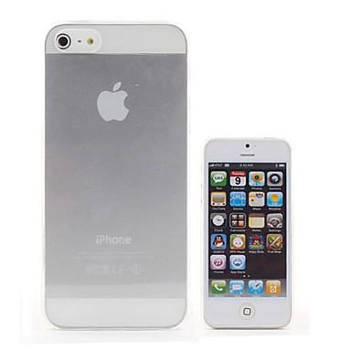 Transparante iPhone 5 Hoes In Mooi Design