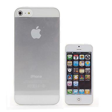 Aborigines - נרתיק עבור iPhone 5 - שקוף - כיסוי אחורי (פוליקרבונט, לבן)