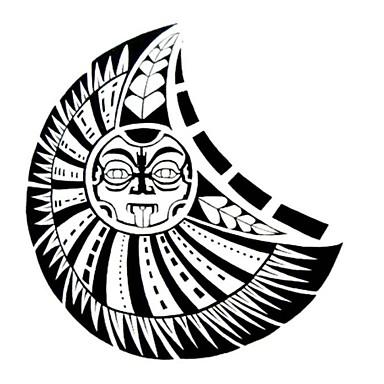 #(1) Temalı Waterproof Totem Serisi Dövme Etiketleri