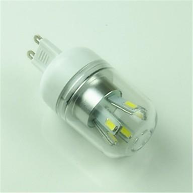 1pc 4.5 W 6000-6500 lm G9 LED Mısır Işıklar T 10 LED Boncuklar SMD 5730 Dekorotif Serin Beyaz 85-265 V