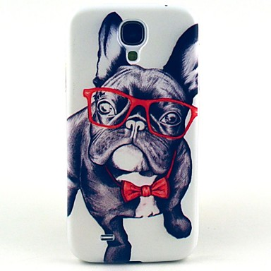 Uyumluluk Samsung Galaxy Kılıf Kılıflar Kapaklar Temalı Arka Kılıf Pouzdro Köpek PC için Samsung Galaxy S4
