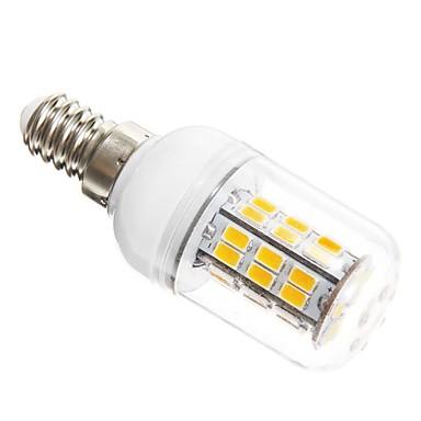 SENCART 5W 450-500 lm E14 Becuri LED Corn T 42 led-uri SMD 5730 Alb Cald AC 12V