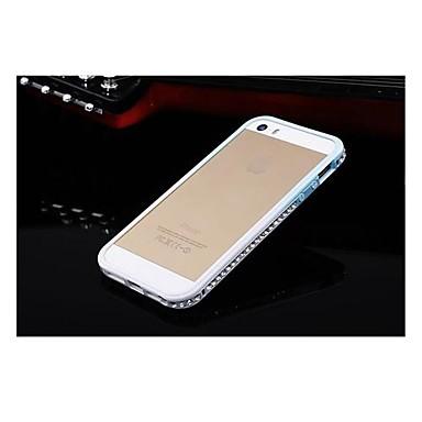 abordables Coques pour iPhone 5-toophone ® gradient joyland de luxe en cristal de diamant strass pare-chocs cadre coloré pour iphone 5/5s (de couleur assortie)