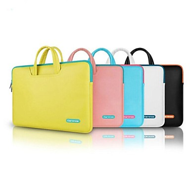 Handbags Solid Colored PU Leather for Macbook Pro 15-inch / MacBook Air 13-inch / Macbook Pro 13-inch