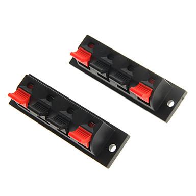 lson 4AT hoparlör yükselticisi terminali yay yükü konektörü (2 adet)