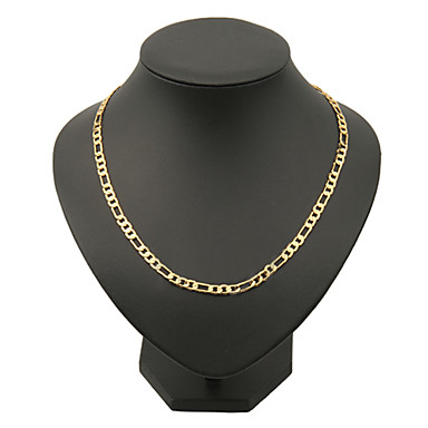Mens figaro chain necklace gold plated classic hip hop golden mens figaro chain necklace gold plated classic hip hop golden necklace for christmas mozeypictures Images