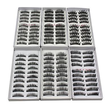Eyelash Extensions False Eyelashes 120 pcs Volumized / Natural / Thick Eyelash Classic Daily Makeup Cosmetic