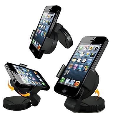 Montajlı Telefon Tutucu Stand Araba 360° Dönüş Plastik for Cep Telefonu