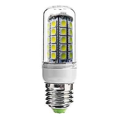 700 lm E26/E27 LED Mısır Işıklar T 59 led SMD 5050 Dekorotif Serin Beyaz AC 220-240V