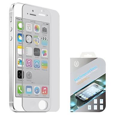 Недорогие Защитные пленки для iPhone SE/5s/5c/5-AppleScreen ProtectoriPhone SE / 5s Взрывозащищенный Защитная пленка для экрана 1 ед. Закаленное стекло