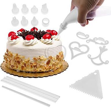 100 adet / takım kek bisküvi pişirme kalıpları diy kek dekorasyon fondan çerez kesiciler kek araçları