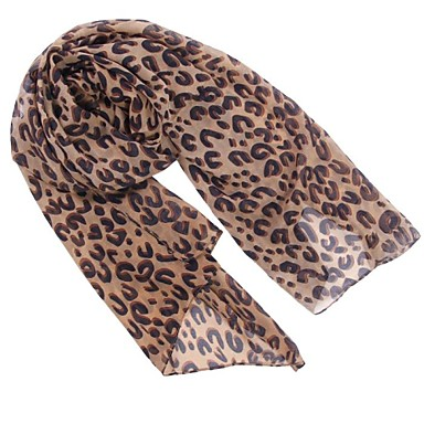 femei leopard eșarfă