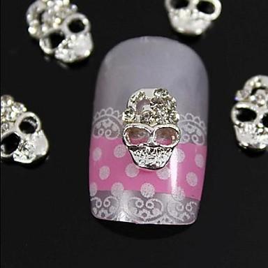 10pcs Nail Jewelry Diğer Süslemeler Mevye Çiçek Soyut Klasik Karikatür Sevimli Düğün Punk Günlük Mevye Çiçek Soyut Klasik Karikatür