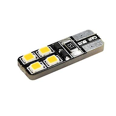 T10 Araba Motorsiklet Sıcak Beyaz 1W 2800-3300 Yan Lambalar Kapı lambası Okuma Işığı Plaka Aydınlatma Lambası