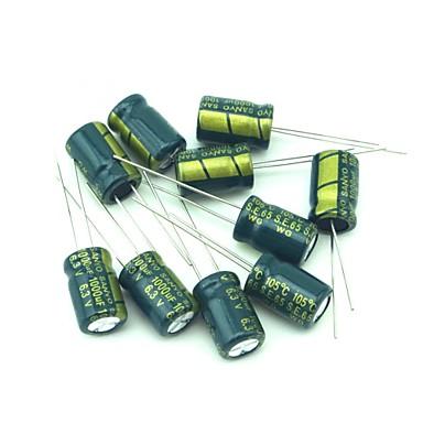 sanyo yüksek kaliteli elektrolitik kapasitörler 6.3v 1000uf 190 adet