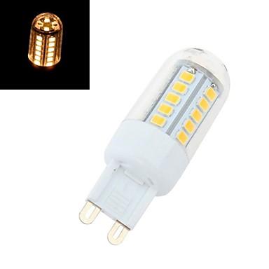 G9 Becuri LED Corn T 42 led-uri SMD 2835 Alb Cald 360lm 2800-3200K AC 220-240V