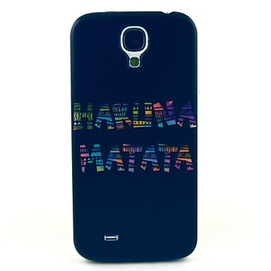 model Matata negru capac caz greu pentru i9500 Samsung Galaxy s4