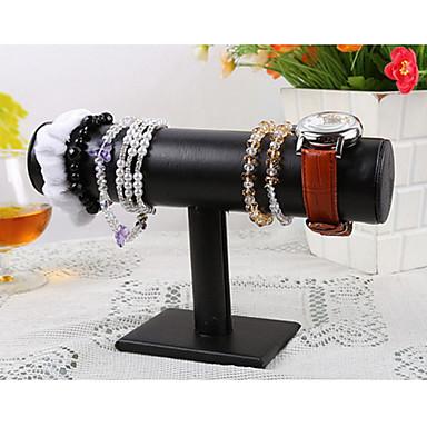 abordables Embalajes y expositores para joyería-Flor Expositores de Joyas - Piel Moda Negro 5 cm / Mujer