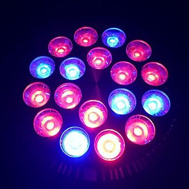 E27 18W 1080-1440lm 12red ve 6blue ışık nokta ampul fabrikası ışık büyümeye yol açtı (85-265V)