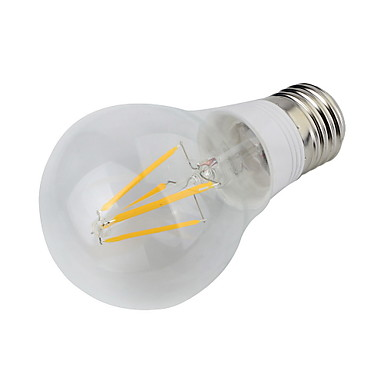 E26/E27 LED-bollampen 4 leds COB Decoratief Warm wit 400lm 3000K AC 85-265V