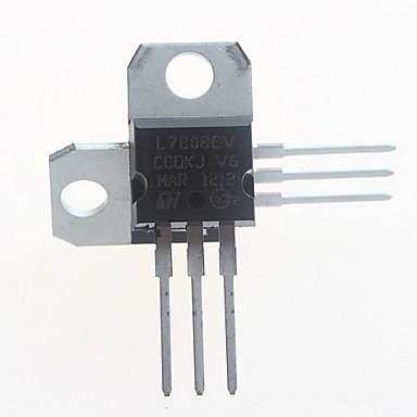 l7808cv voltaj regülatörü 8v / 1.5a için-220 (5 adet)