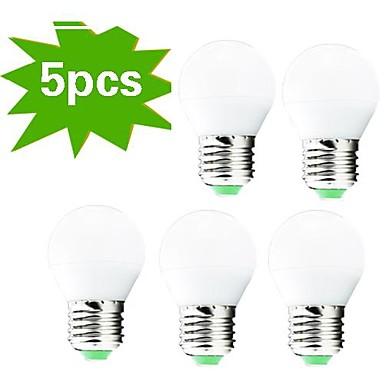 400 lm E26/E27 LED Λάμπες Σφαίρα G45 27 leds SMD 3022 Διακοσμητικό Θερμό Λευκό AC 220-240V