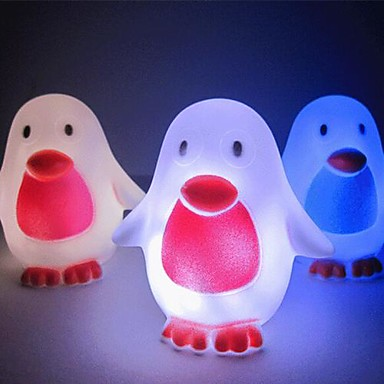 LED Night Light Waterproof Battery PVC 1 Light Batteries Included 9.0*8.0*5.0cm