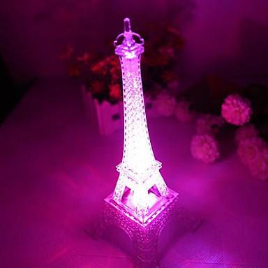 Gece aydınlatması LED Su Geçirmez Batarya PVC 1 Lamba Piller dahildir 10.0*10.0*15.0cm
