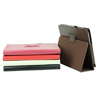 Asus-t100ta (çeşitli renklerde) için kalem ile 10.1 inçlik lichee desen pu deri çanta