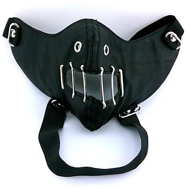 Masker geinspireerd door Tokyo Ghoul Cosplay Anime Cosplay Accessoires Masker Zwart PU Leder Mannelijk