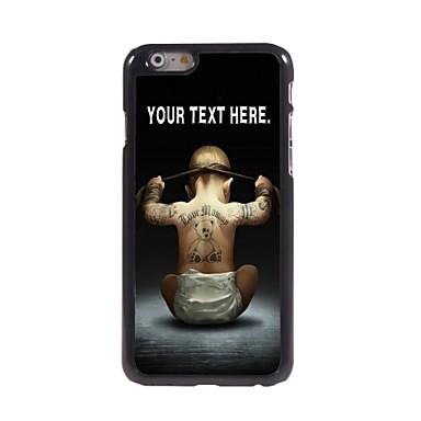 εξατομικευμένη περίπτωση αγόρι μεταλλικό σχεδιασμό θήκη για το iPhone 6 (4,7