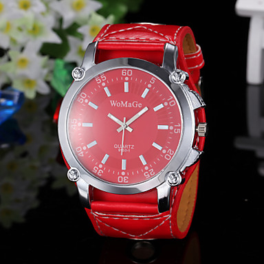 Women's Watch Fashion Big Round Dial  Cool Watches Unique Watches